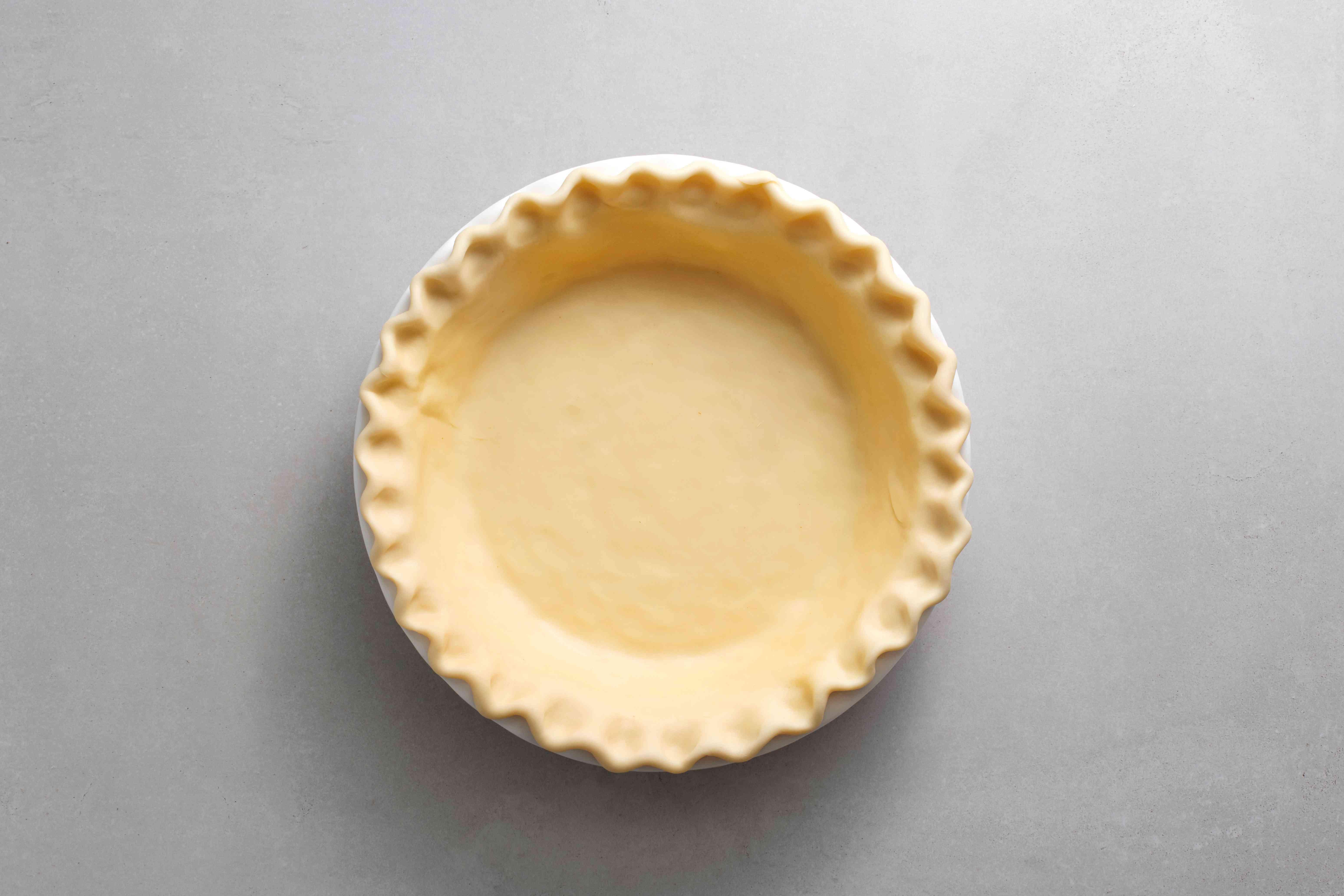 Pie crust shell