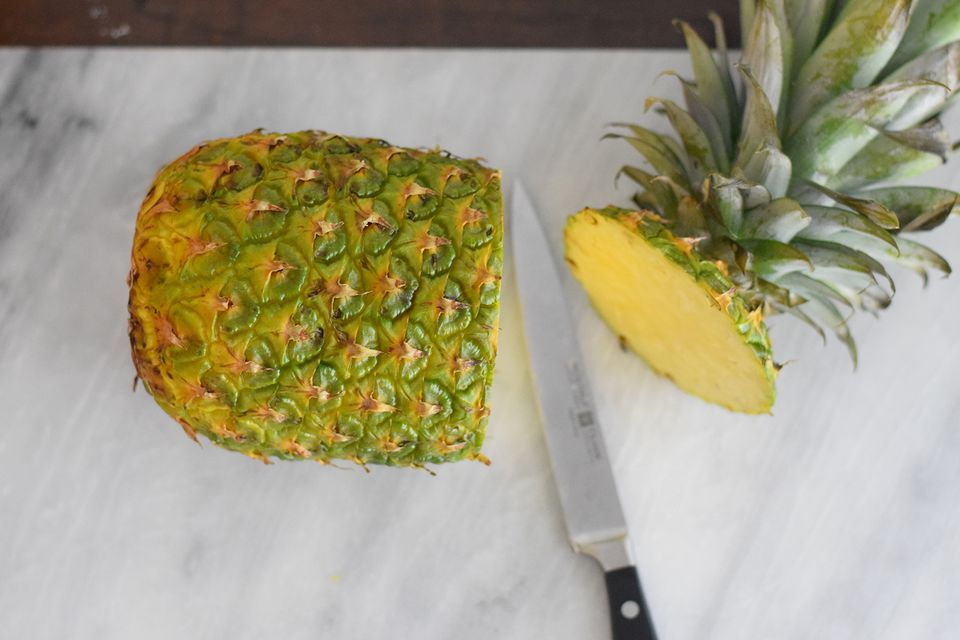 cut pineapple