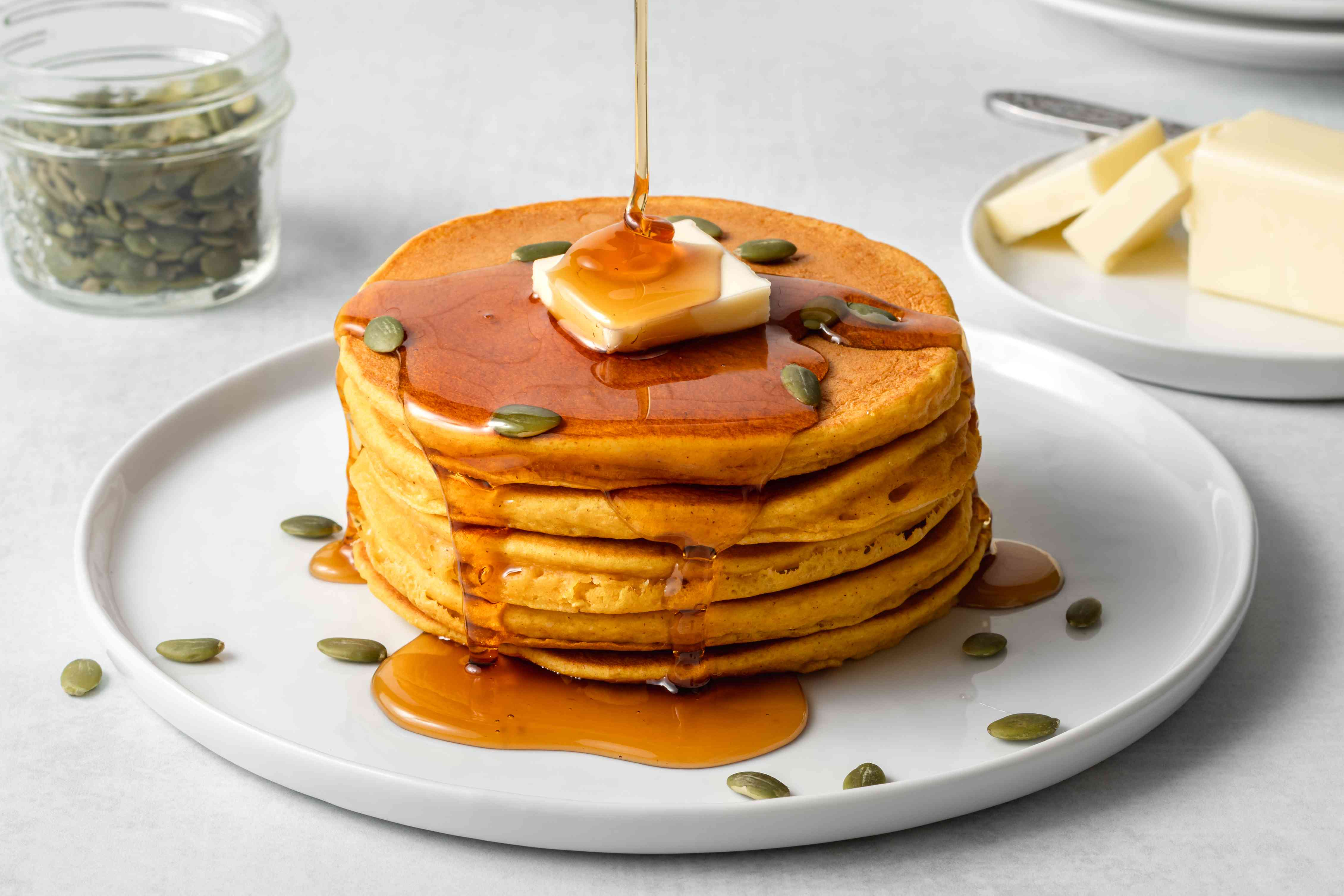 Quick and Easy Pumpkin Pancakes