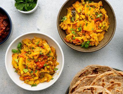 Bund Gobhi/ Patta Gobhi Ki Subji (Stir Fry Cabbage)