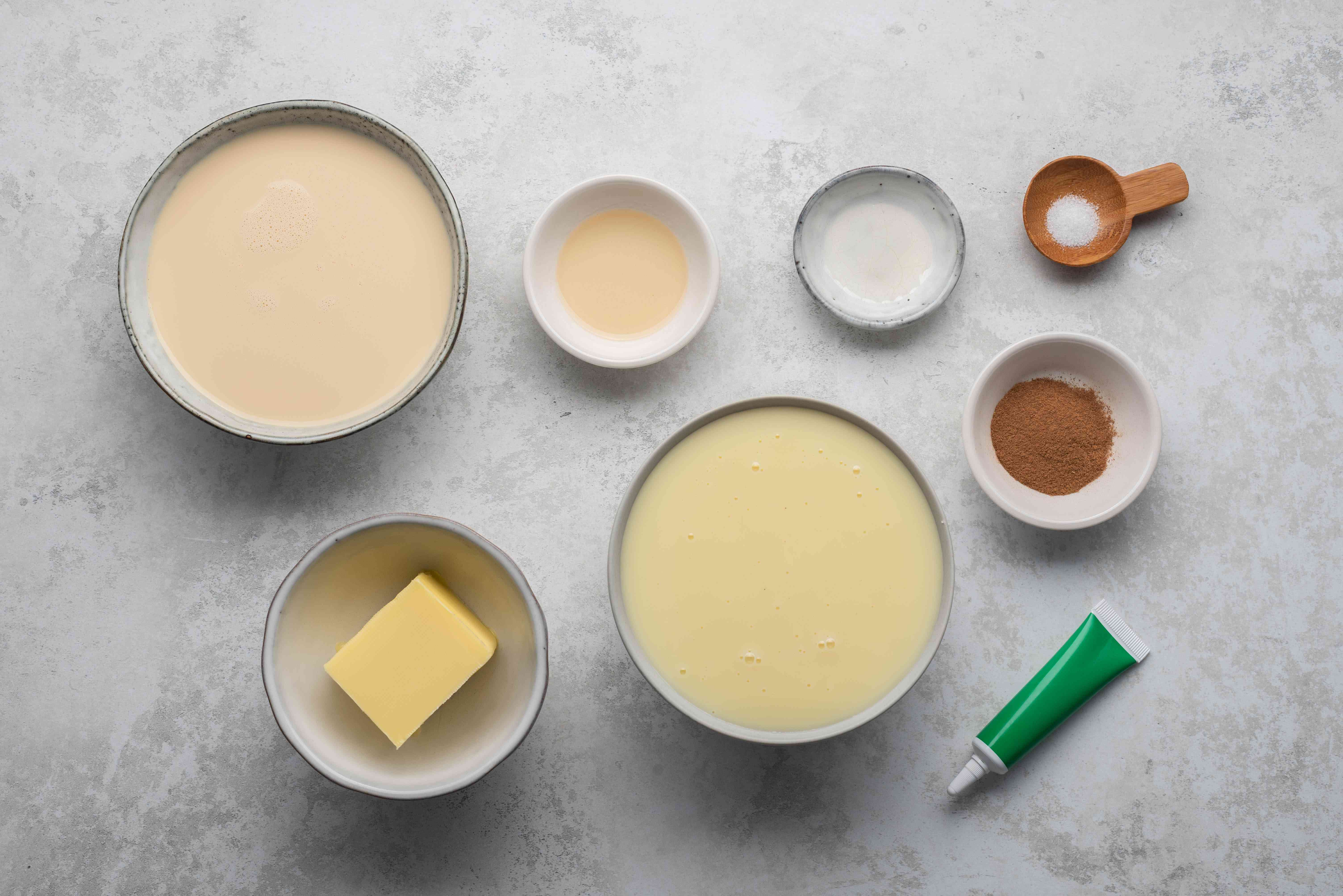 Milk Fudge Recipe (Jamoncillo De Leche) ingredients