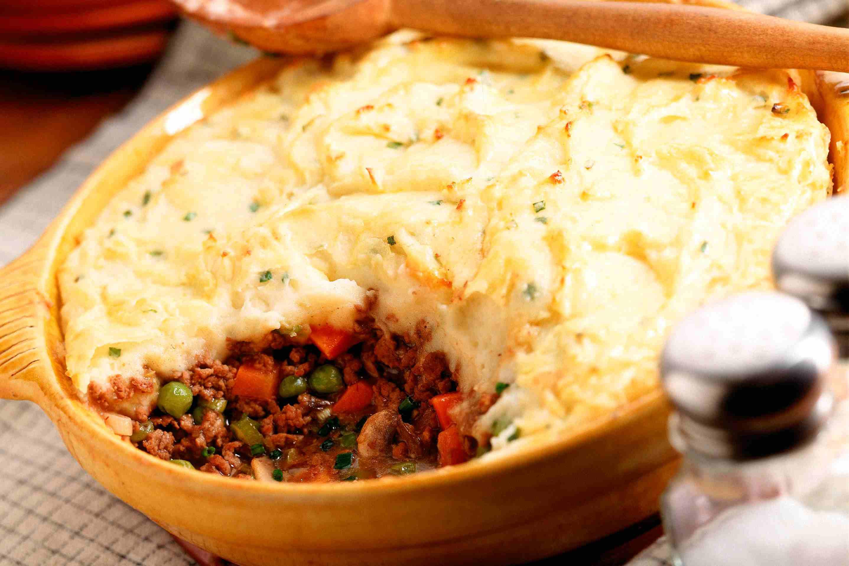 Meatloaf Shepherd's Pie