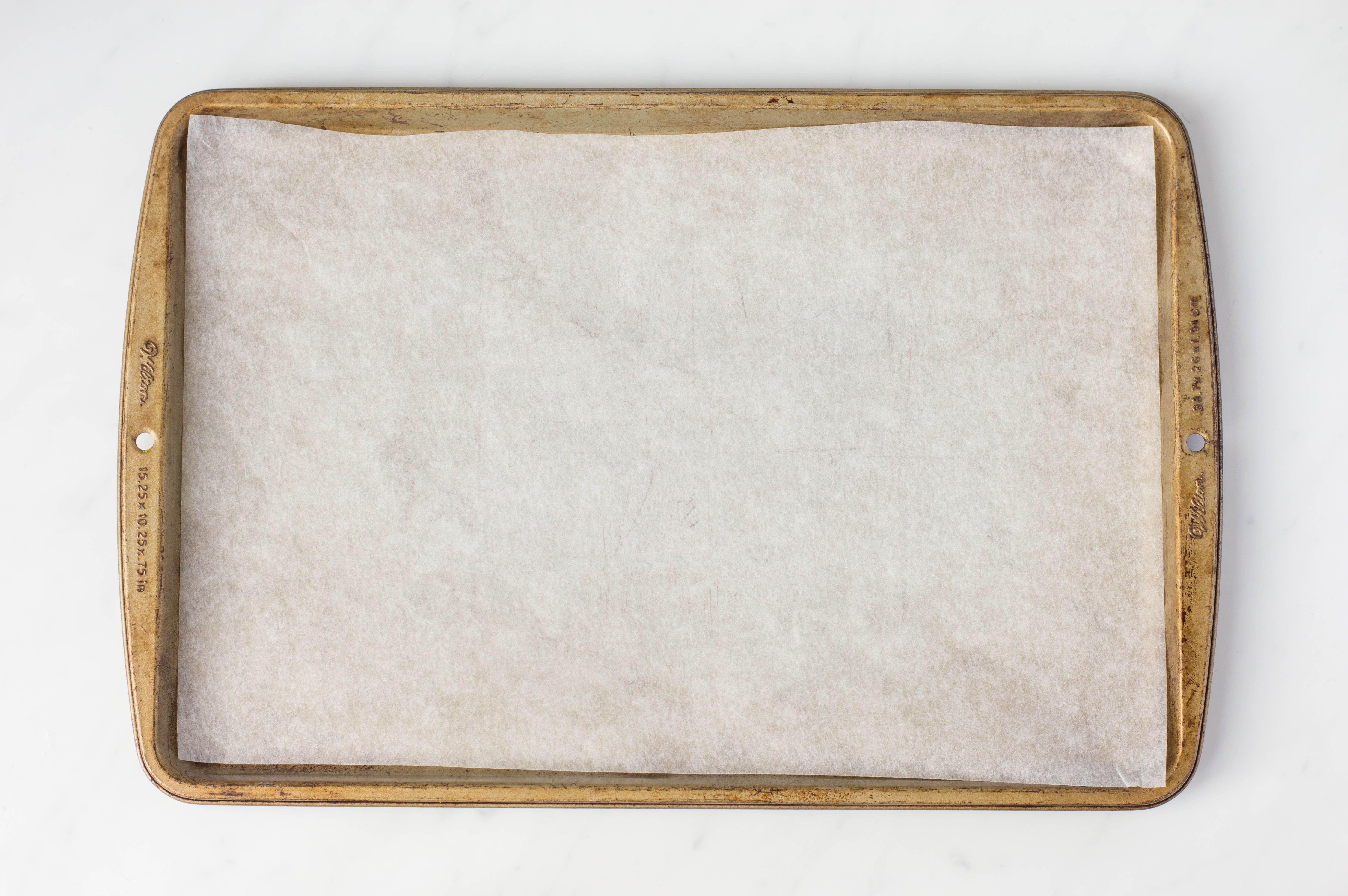 Cover baking sheet