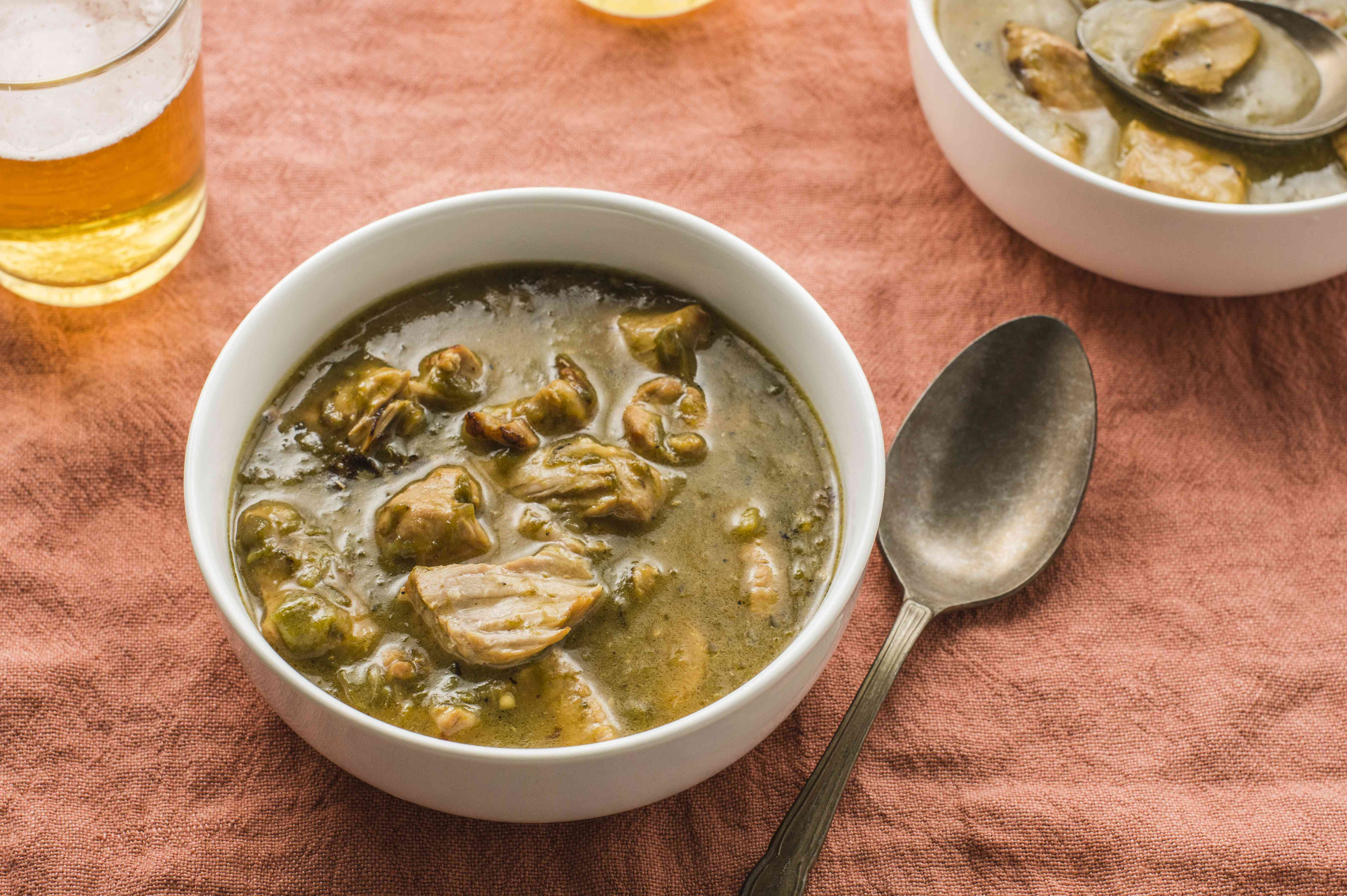 Pork green chili recipe