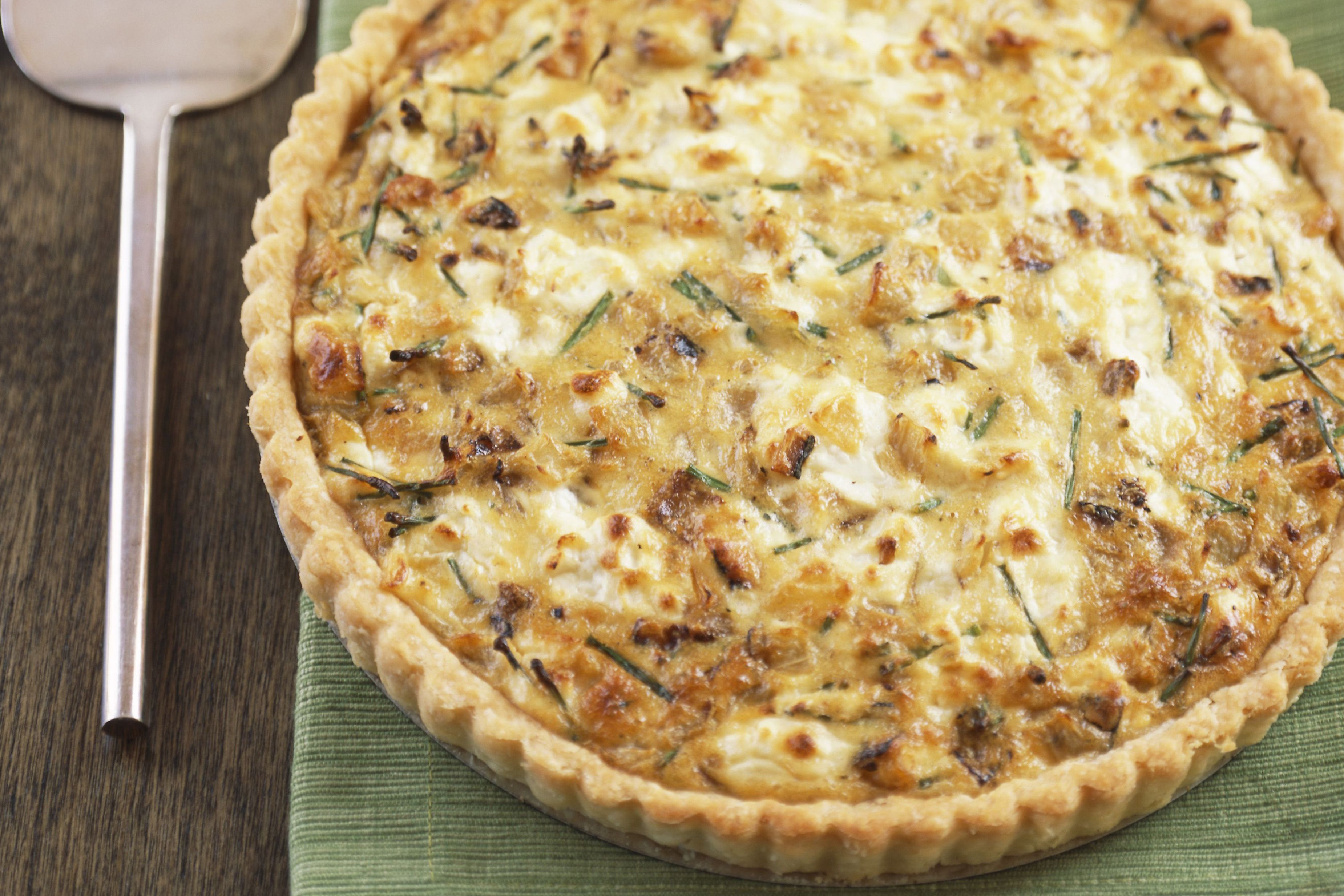This Cheese and Sausage Quiche Doesn't Skimp on Protein