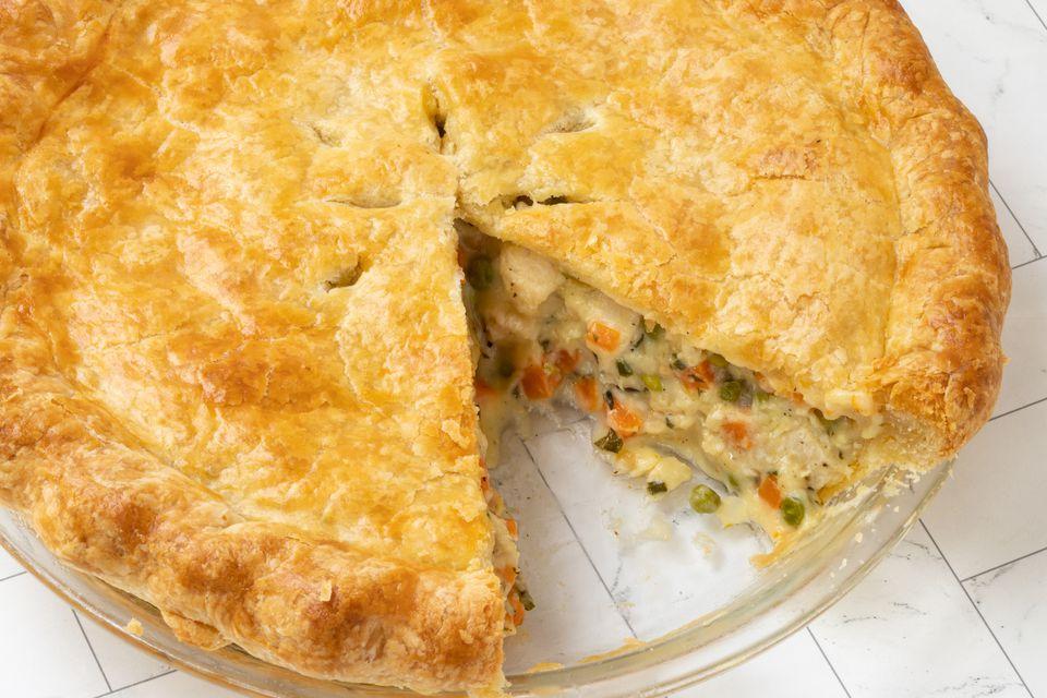 classic chicken pot pie recipe
