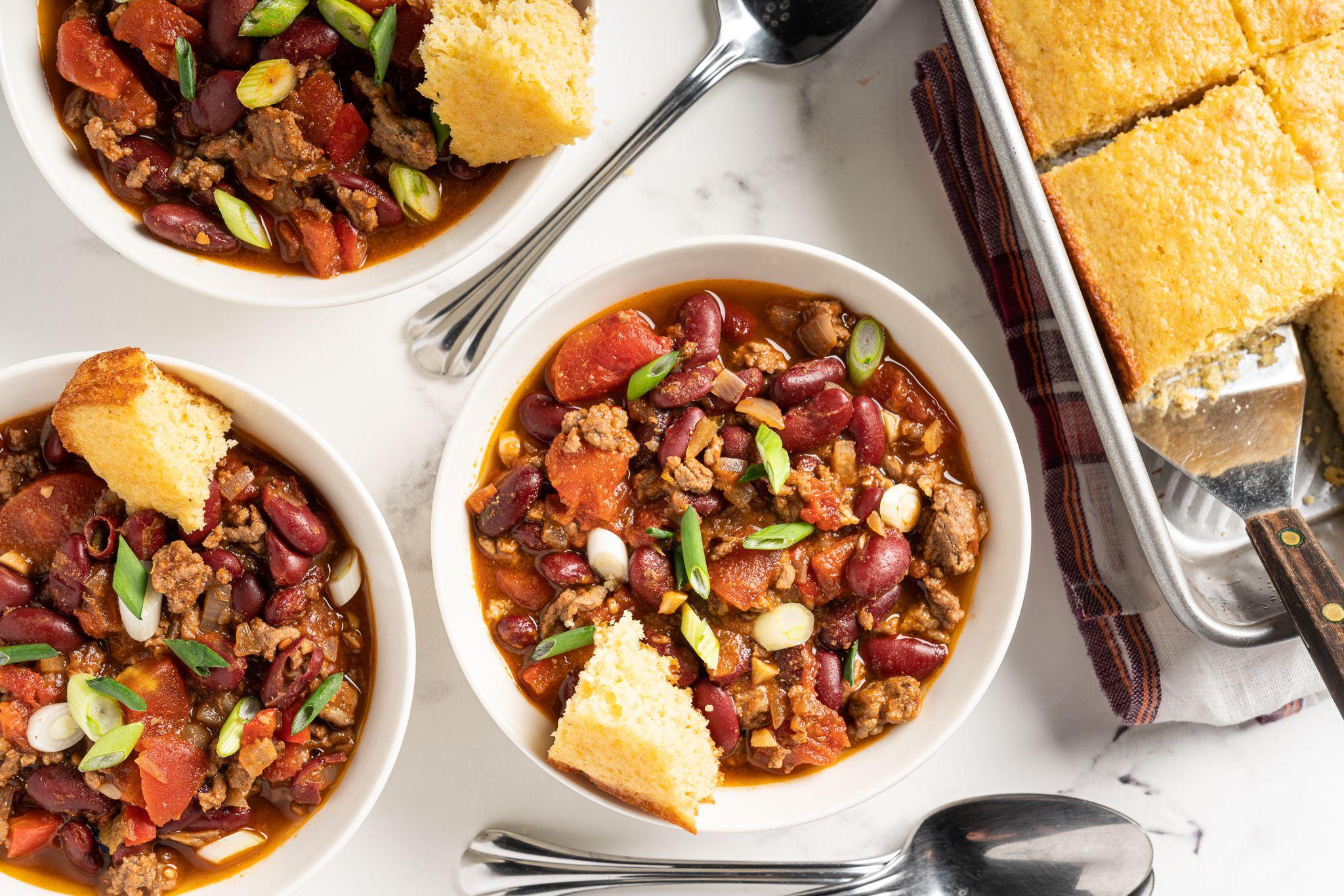 Low Calorie Crock Pot Chili Recipe