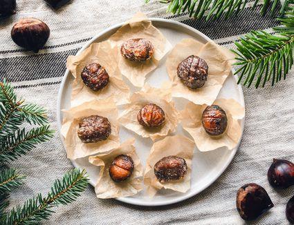 Marron glace candied chestnuts recipe