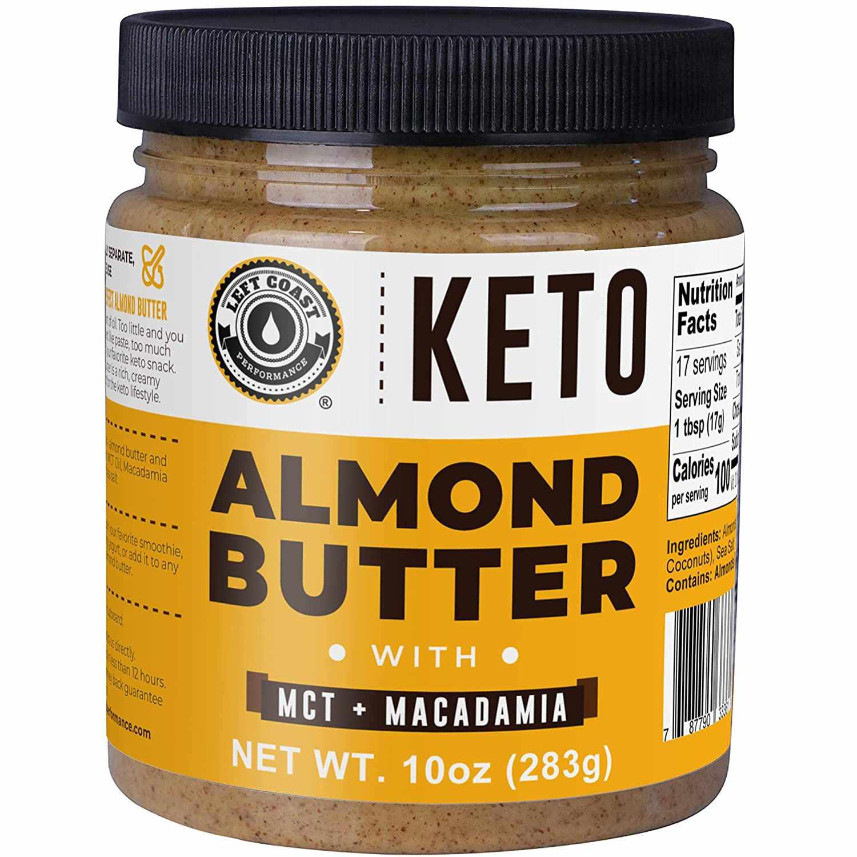 Left Coast Performance Keto Almond Butter