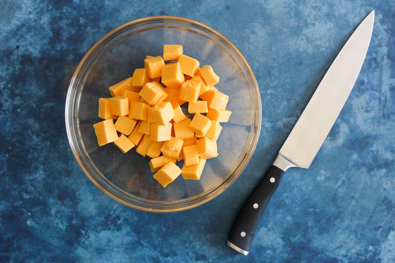 Cut cheese