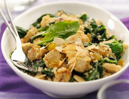 Chicken with Spinach