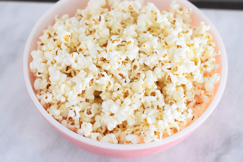 Making Colored Popcorn