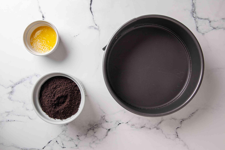 Mix crust ingredients