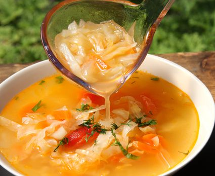 Cabbage (kapuśniak) soup