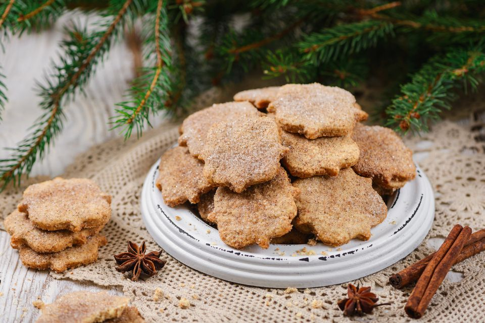 Anise and cinnamon sugar cookies (bizcochitos) Recipe