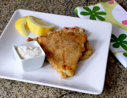 Oven Fried Haddock Fillets