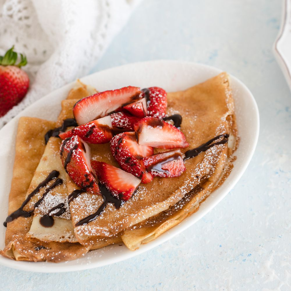 Sweet Or Savory Basic Crepe Recipe