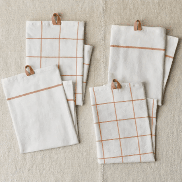 Five Two Set of 4 Kitchen Towels