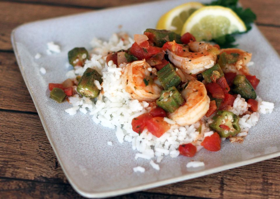 Shrimp and Okra