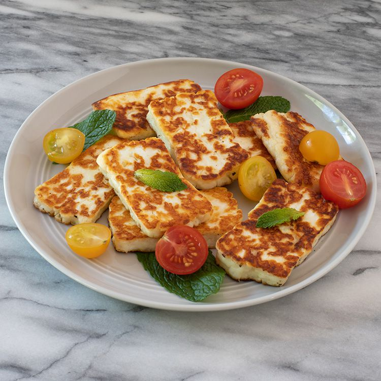 3-Minute Fried Halloumi Cheese Meze Tester Image