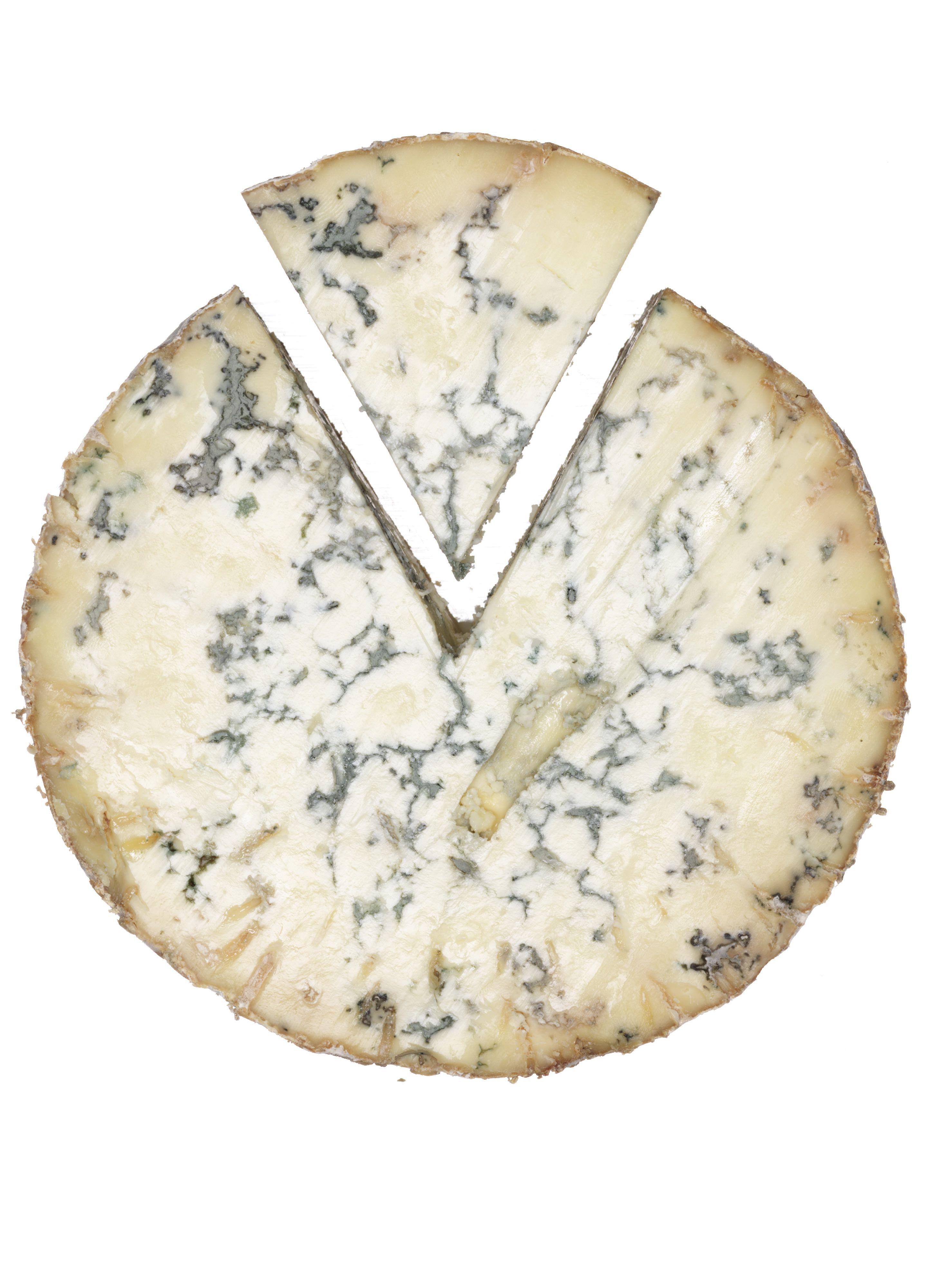 Stilton cheese, close up
