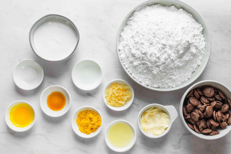 Lemon Creams ingredients