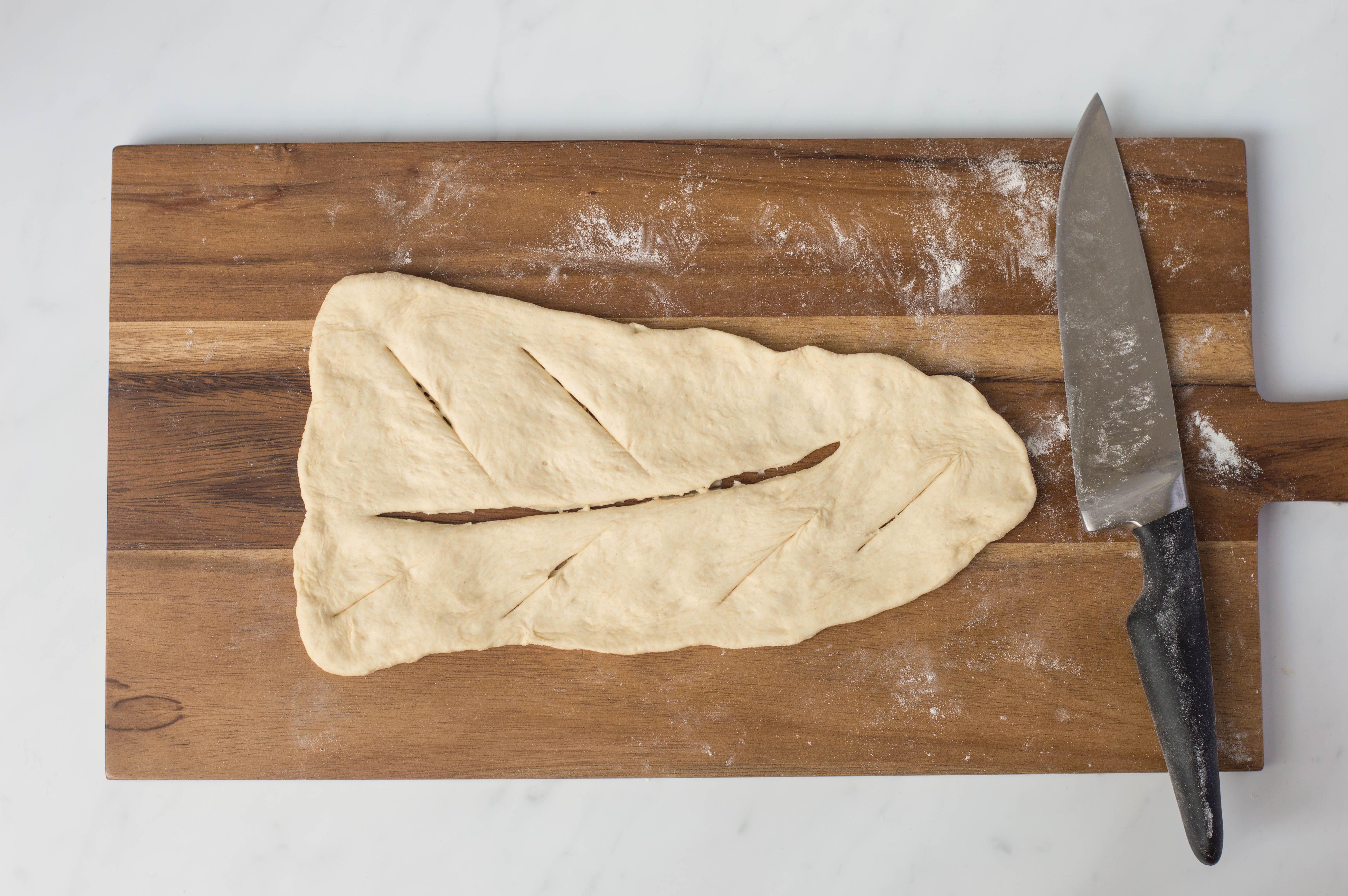 Fougasse bread recipe