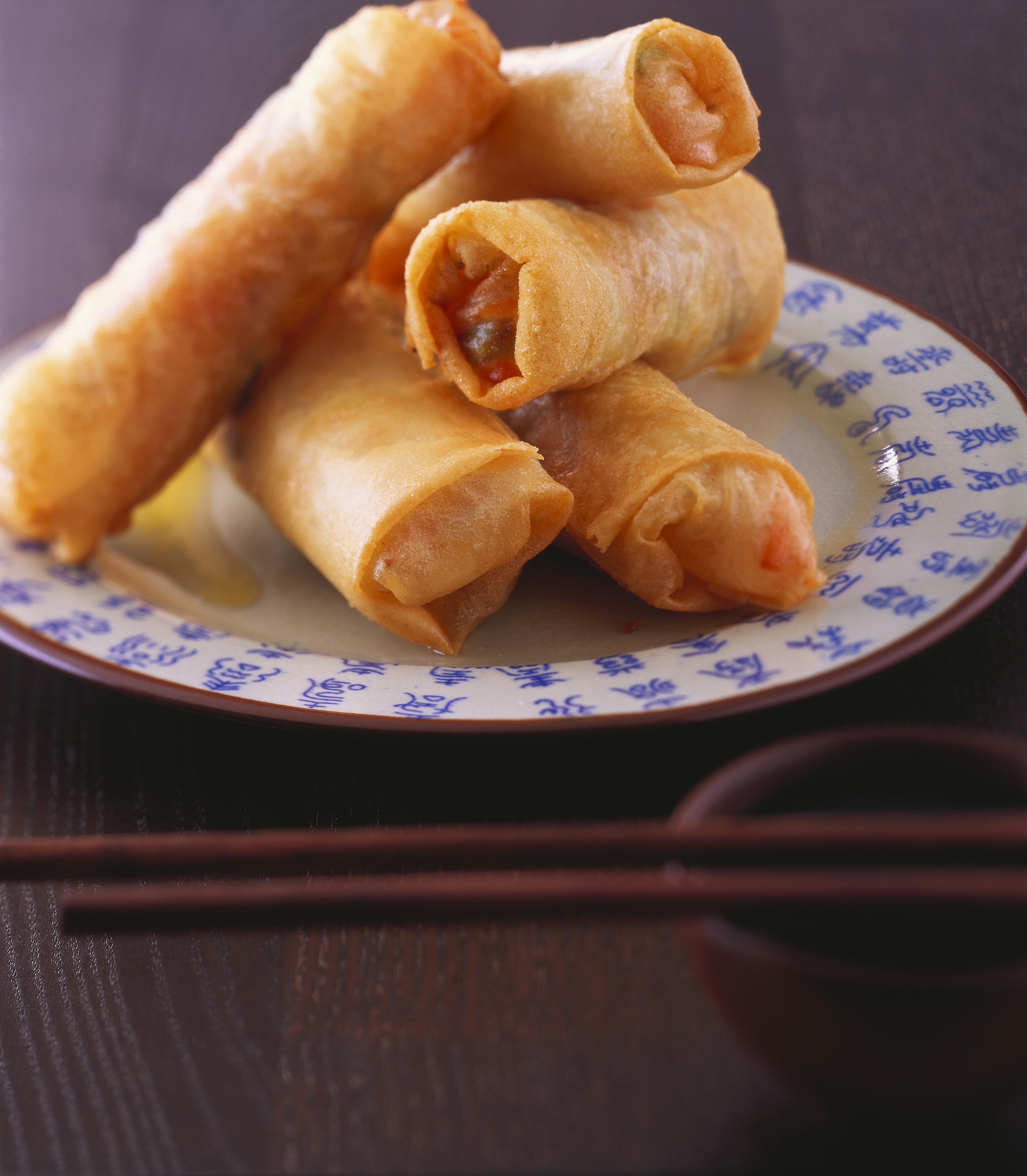 Corned Beef Egg Rolls Are a Delicious Flavorful Mix of Two Cultures