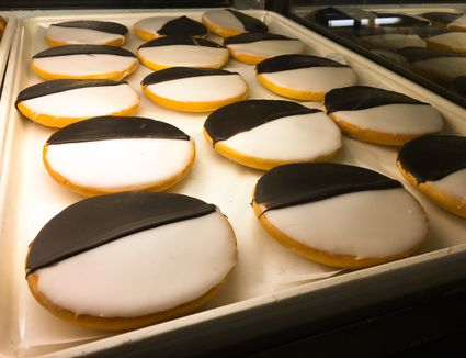 Cookies in a tray