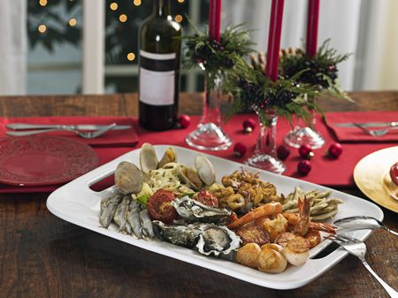 Seven Fishes Christmas Eve.A Naples Style Christmas Feast Of The Seven Fishes