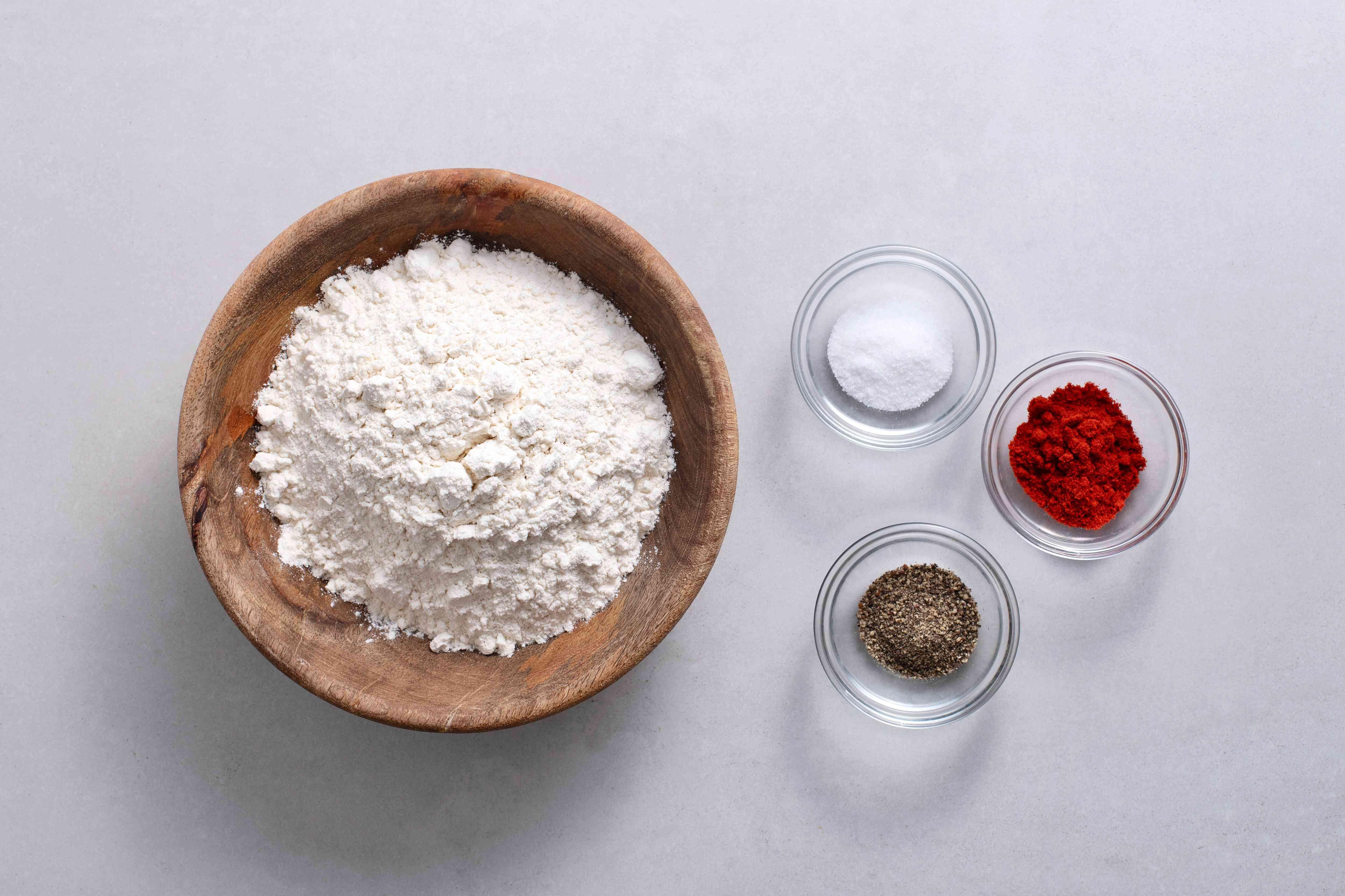 seasoned flour ingredients
