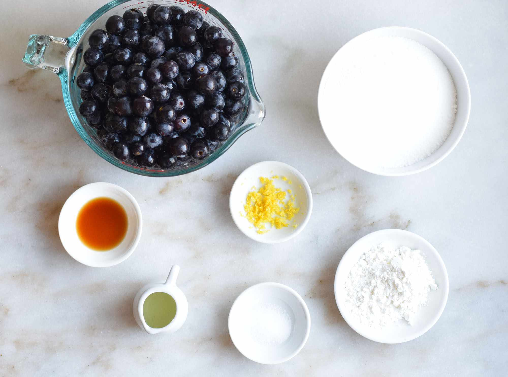 filling ingredients for grape pie