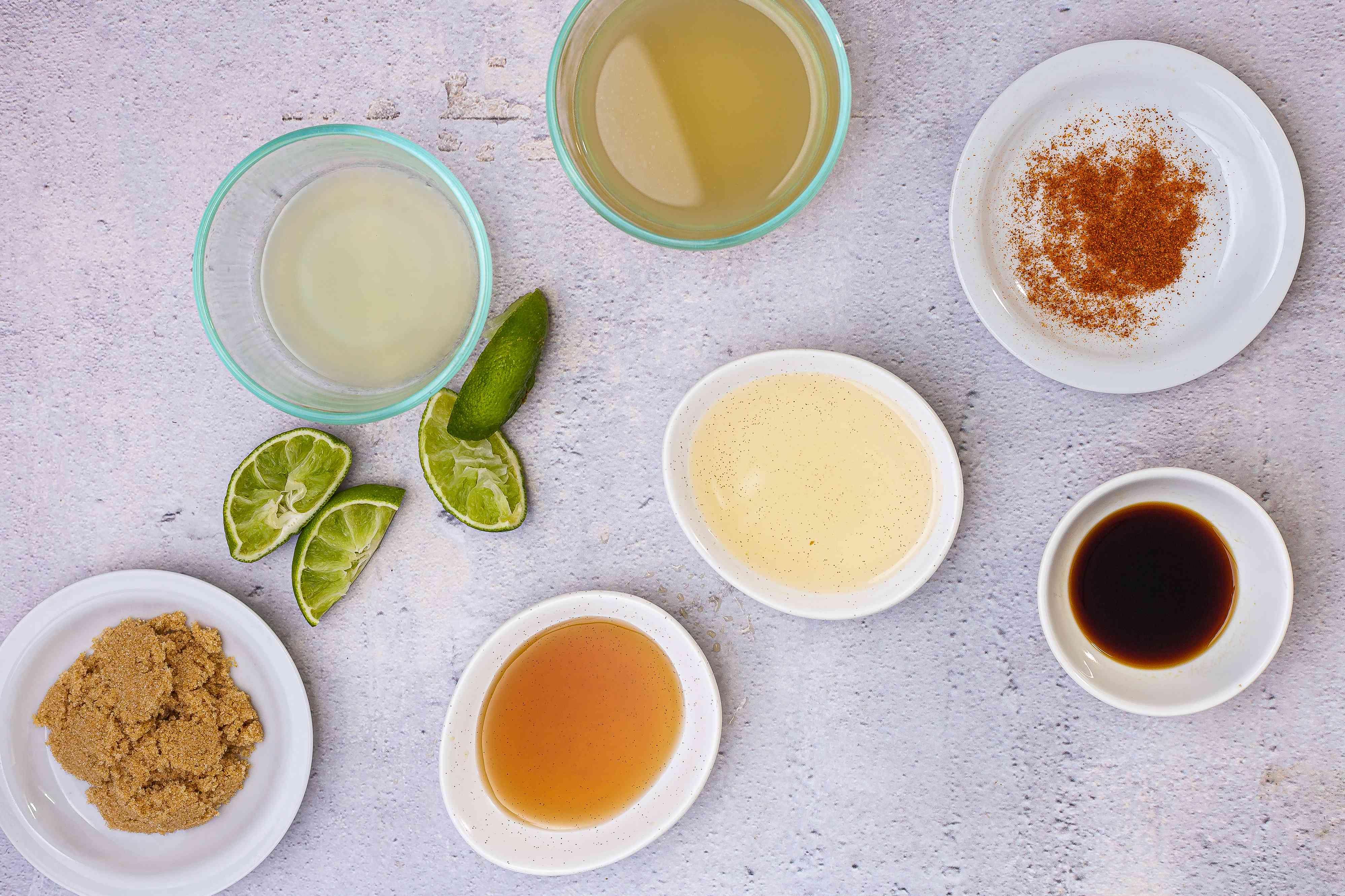 Ingredients for easy pad thai