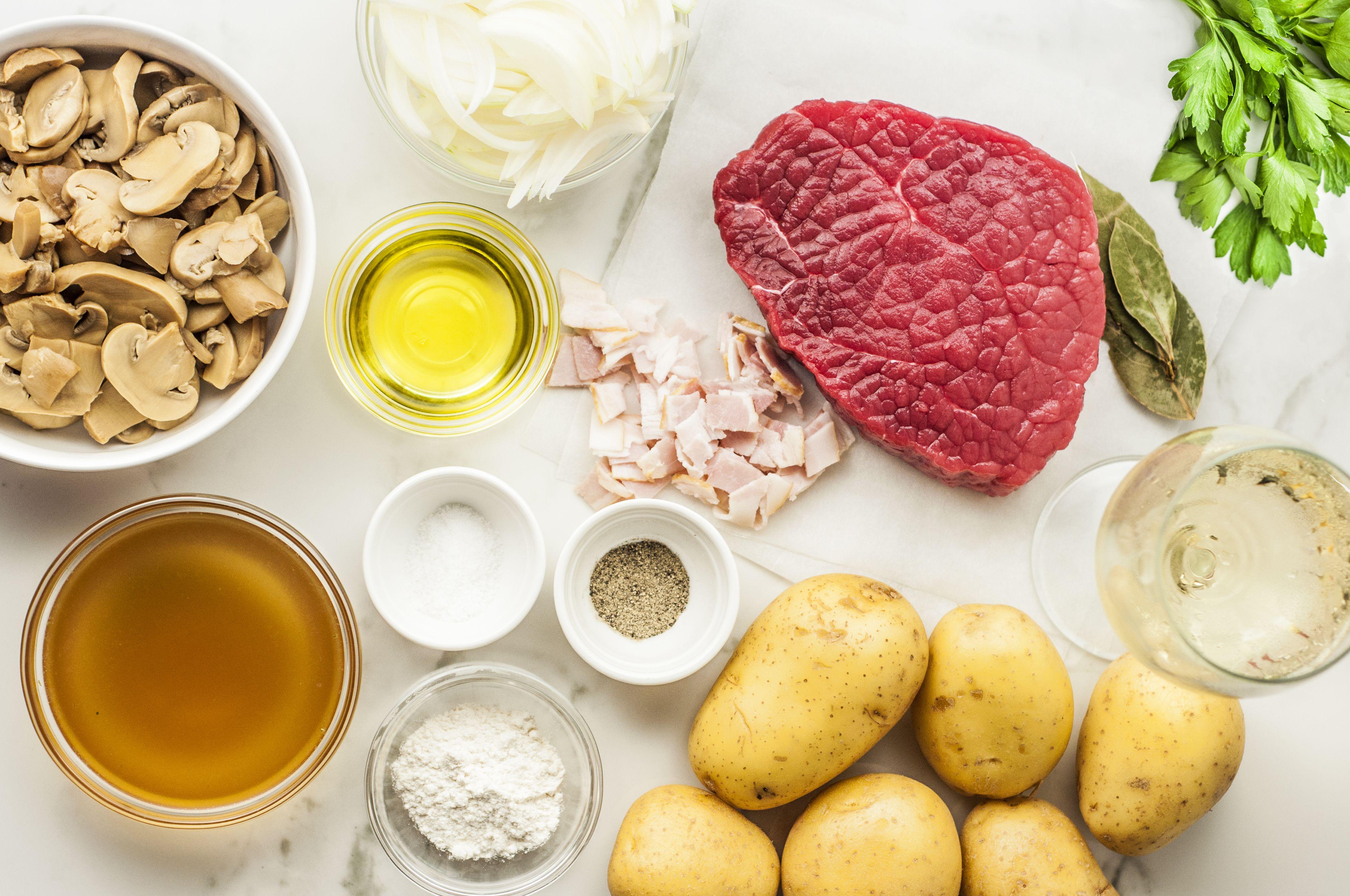 Round Steak and Vegetables recipe