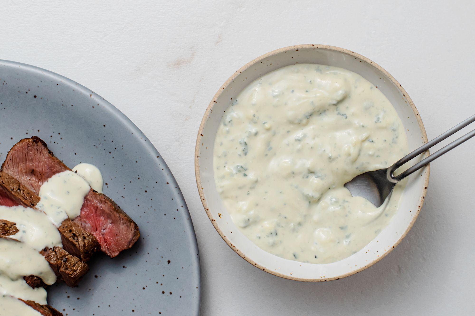 Blue Cheese Sauce Steak Sauce Recipe