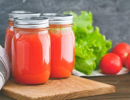 Homemade Tomato Purée Recipe