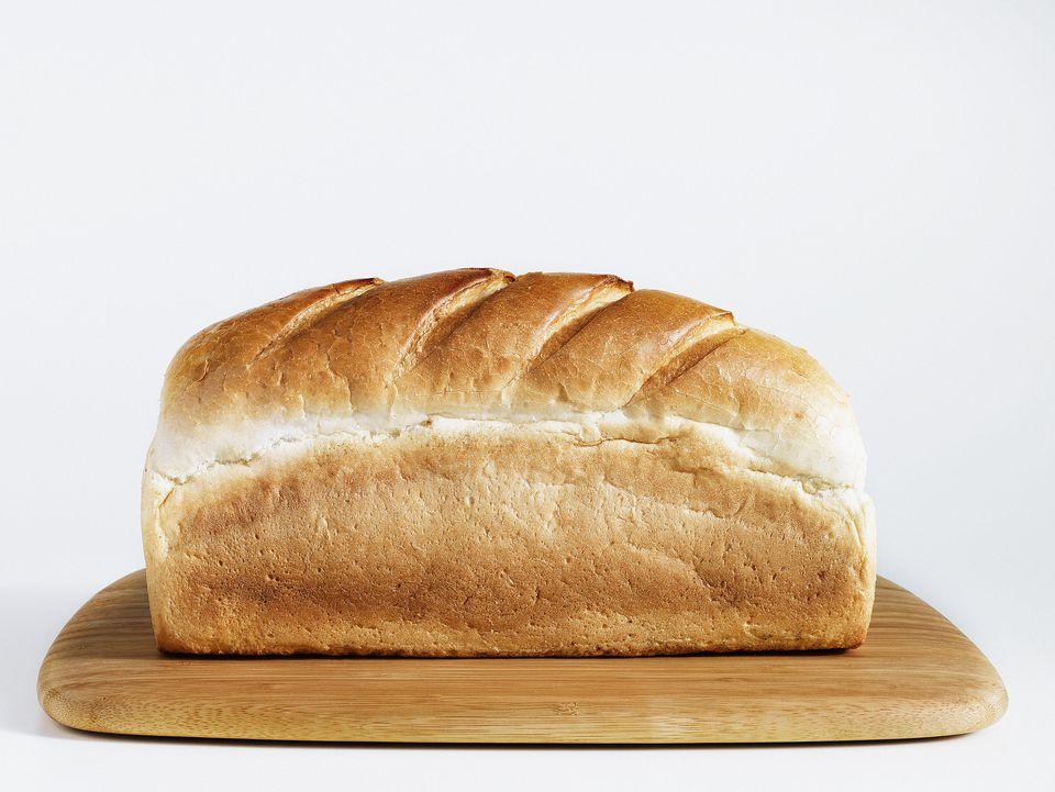 Receta de pan blanco de la era de la Primera Guerra Mundial