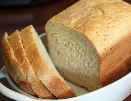 Bread Machine Herb and Parmesan Bread