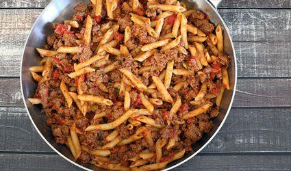 easy skillet hamburger and noodles recipe