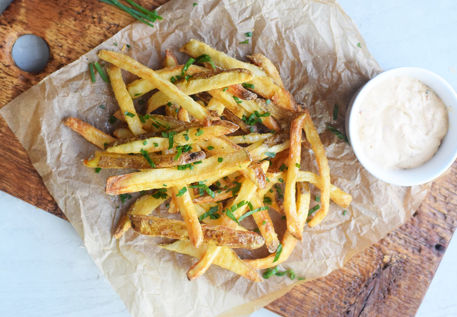 This Recipe Is the Secret to Getting the Crispiest Fries in Your Air Fryer