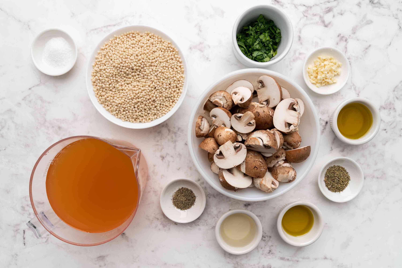 Perfect Israeli Couscous ingredients