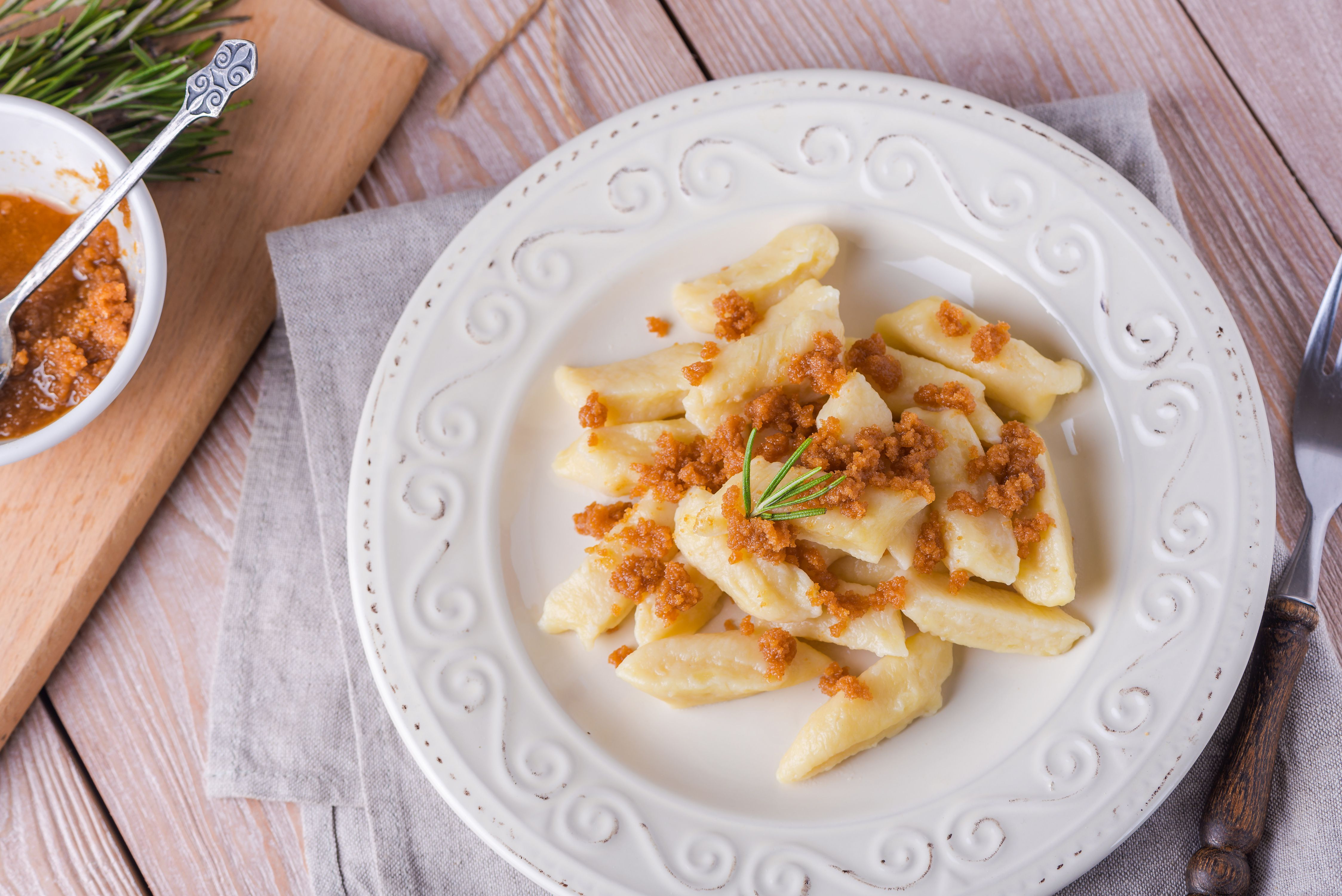 Polish mashed potatoes dumplings