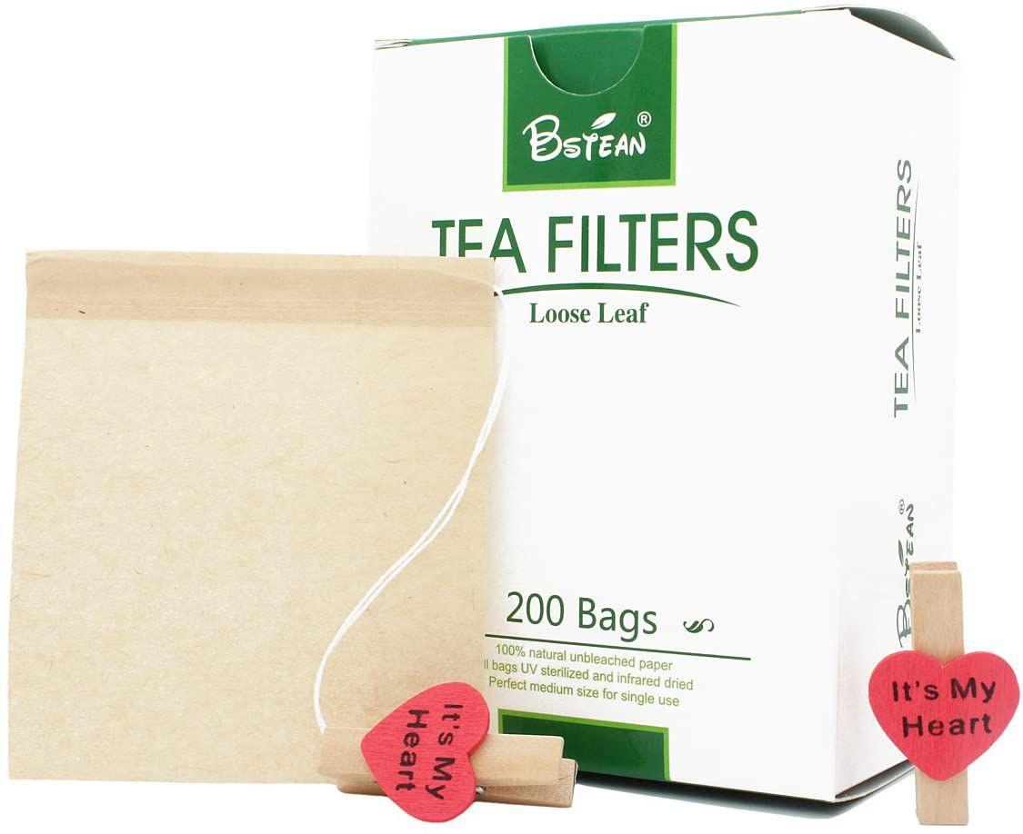 Bstean Tea Filter Bags Disposable Tea Infuser