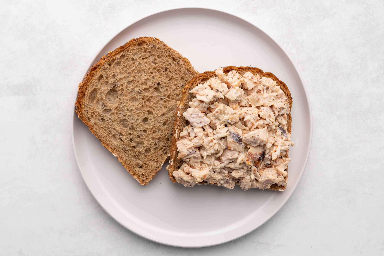 Chicken Sandwich Spread on bread