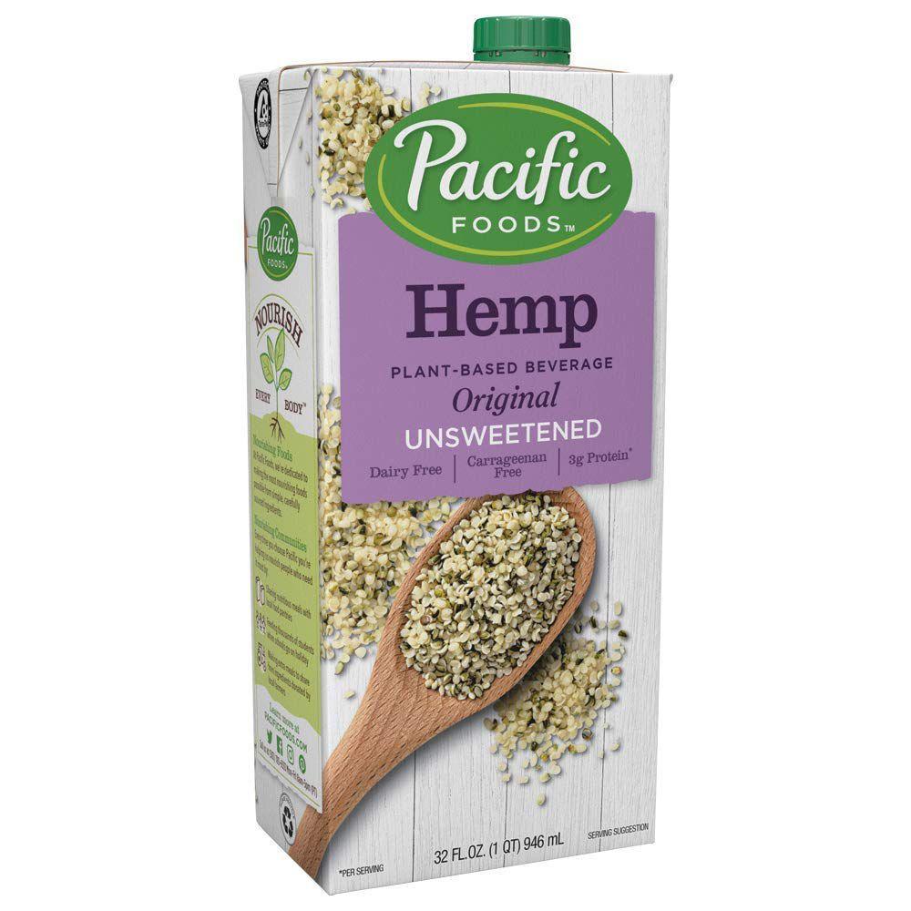 Pacific Foods Hemp Original Unsweetened Plant-