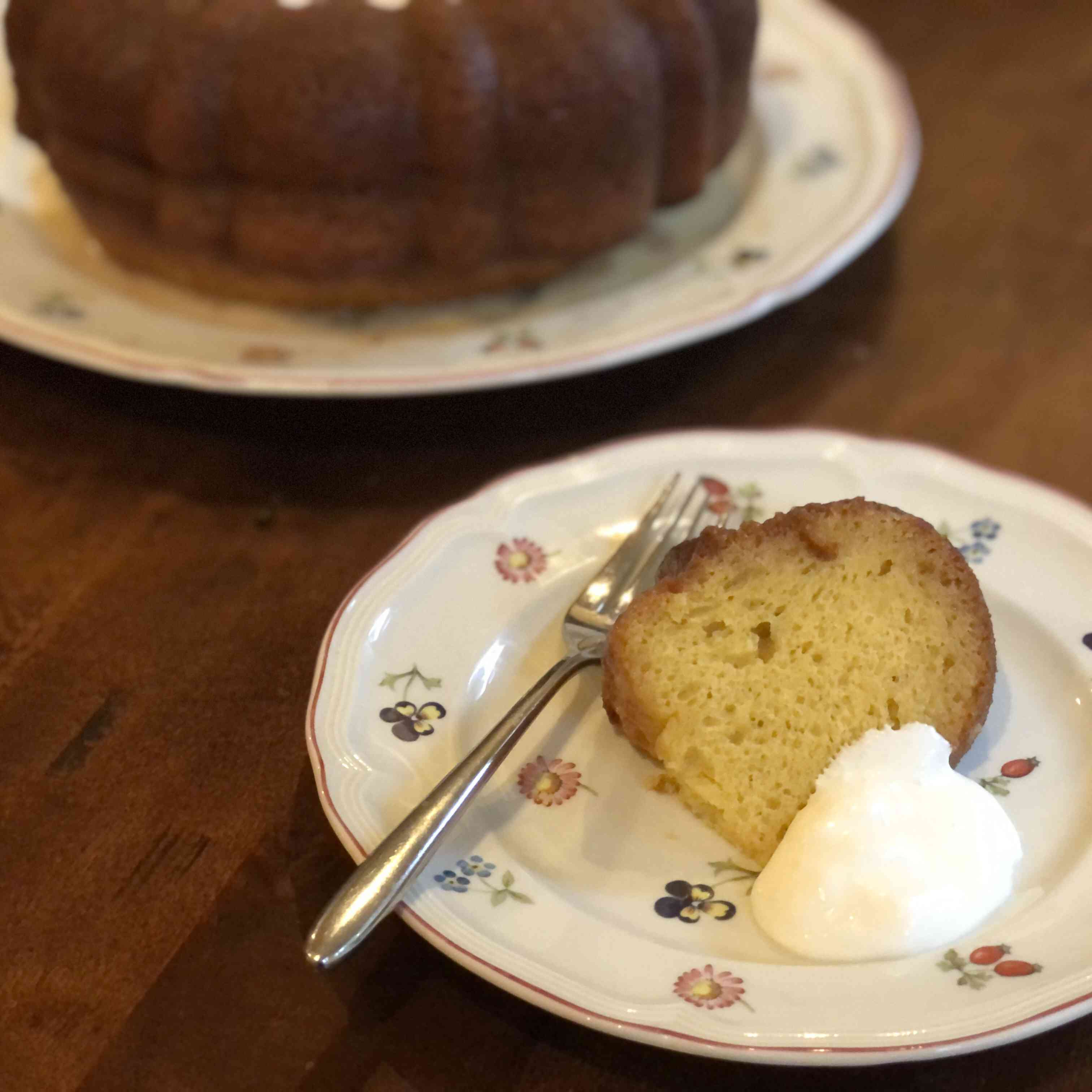 Bacardi Rum Soaked Cake Tester Image