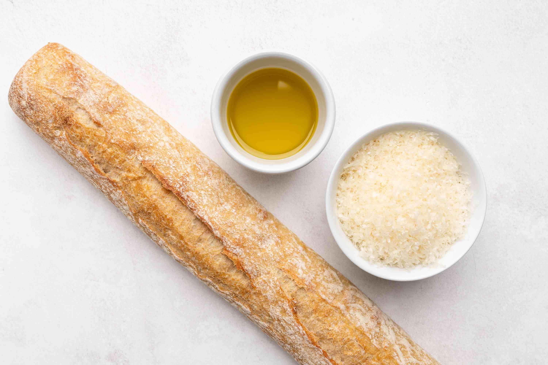 Parmesan Crostini Crisps ingredients