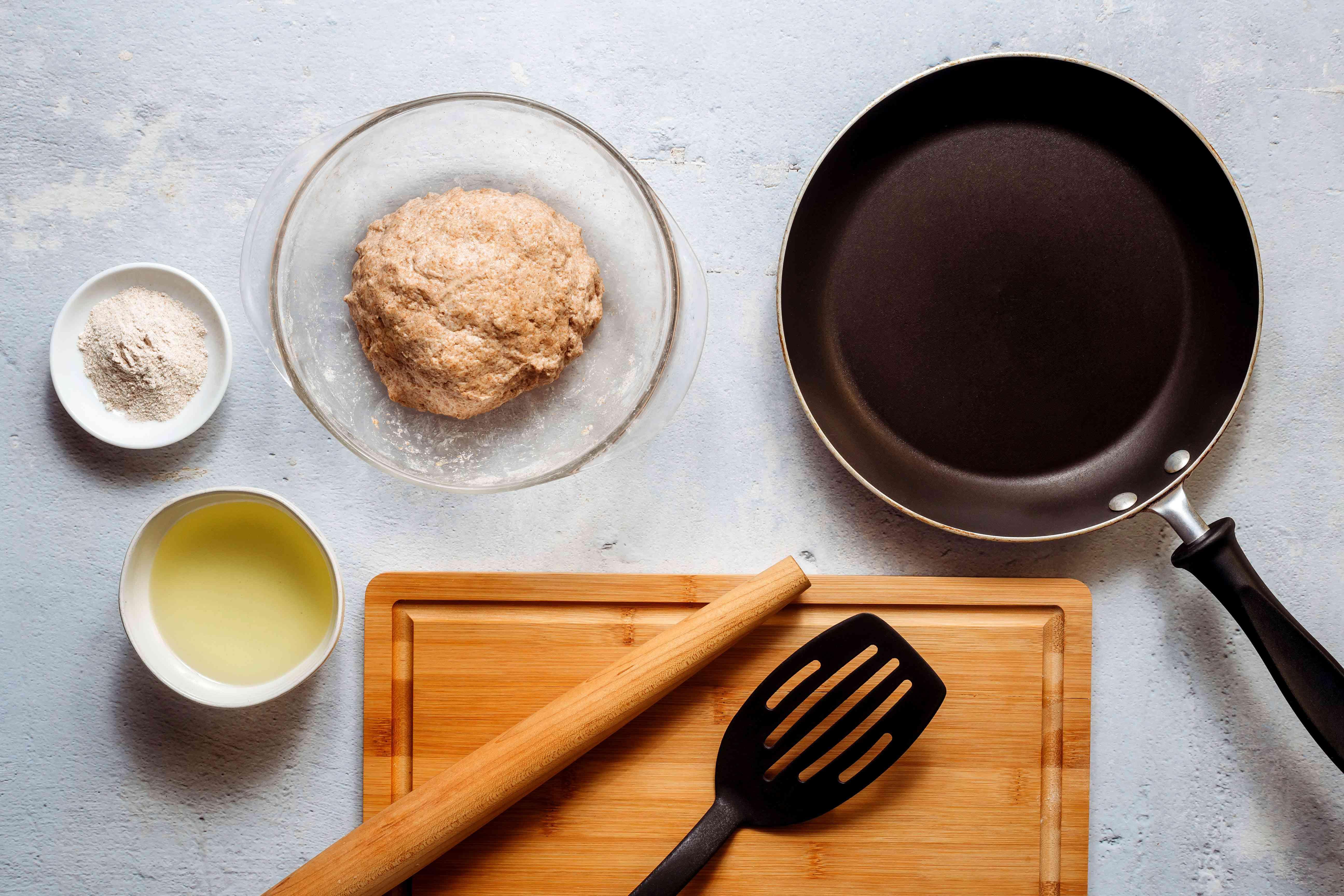 Parathas (Pan-Fried Indian Flatbread) ingredients