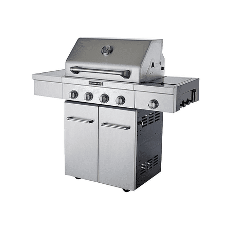 Magnificent Kitchenaid 30 Inch 4 Burner Gas Grill Review Interior Design Ideas Tzicisoteloinfo