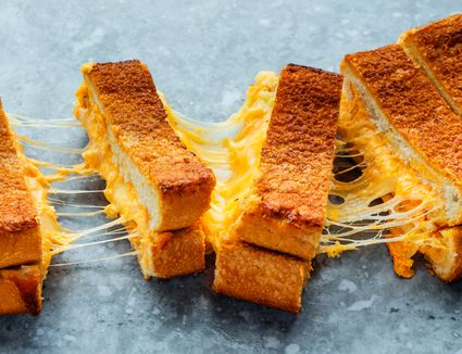 Giant grilled cheese sandwich recipe